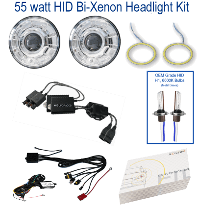2002 BMW HID Conversion Kit version 2