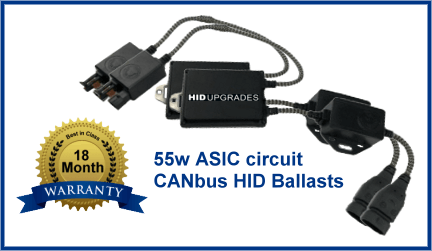 55w ASIC CANbus HID Ballasts