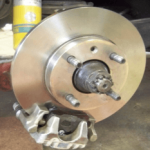 BMW 2002 Rear Disc Brake Conversion
