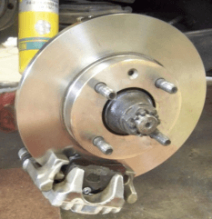2002 BMW Rear Disc Brakes