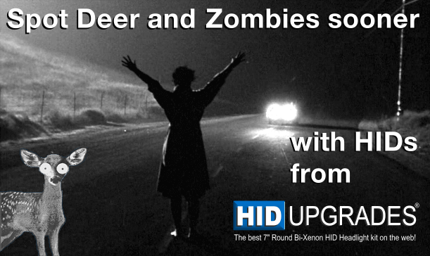 See deer and zombies sooner.