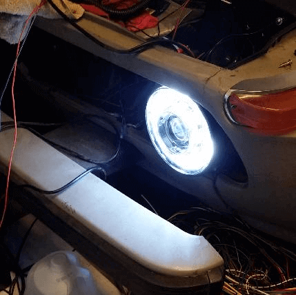 140mm DRL COB Halo ring